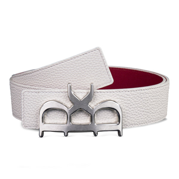 YVES BELT MEN THE PRINCE SILVER