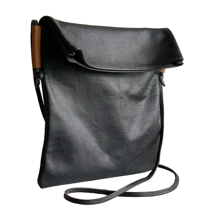 Leather Foldover Bag - 1820 Bag Co.