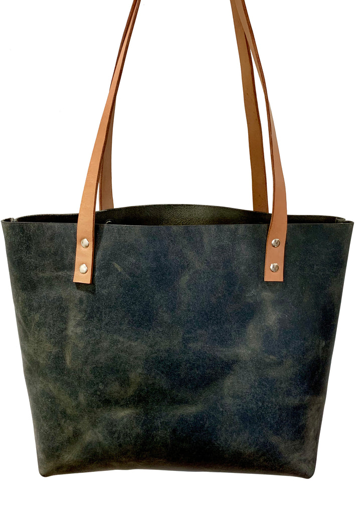 Sarasota Leather Tote - 1820 Bag Co.