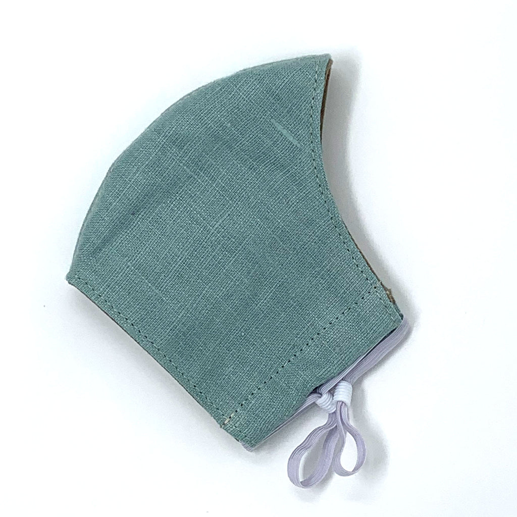 Simple Face Mask - European Linen with Adjustable Ear Loops