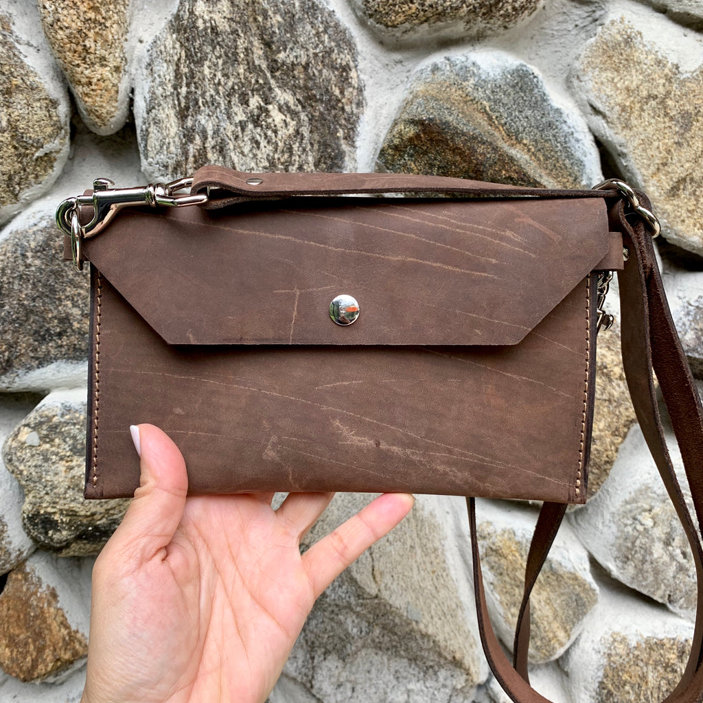 Aventura Leather Hip Bag - 1820 Bag Co.