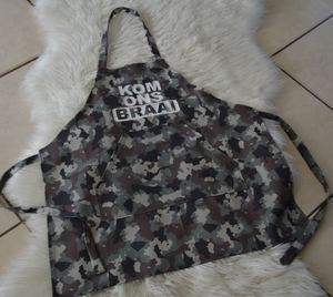 FULLY PRINTED APRONS