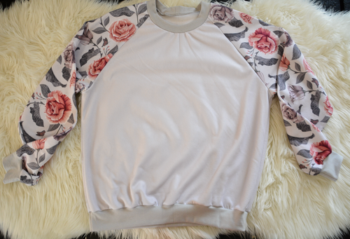 PRINTED SWEATER - ADULT
