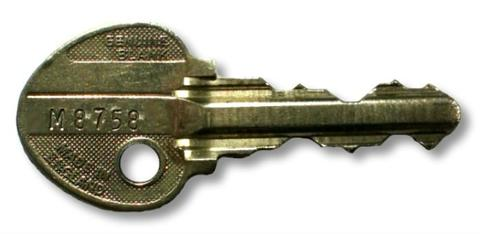 'M' Section Ingersoll Key (Master Key)