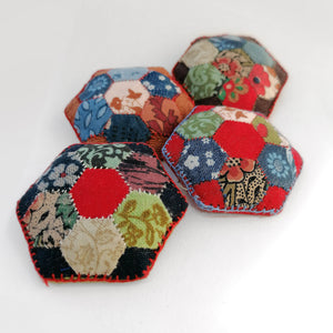 Pincushion Brooches