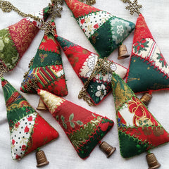 Thimble Tree Christmas Ornaments