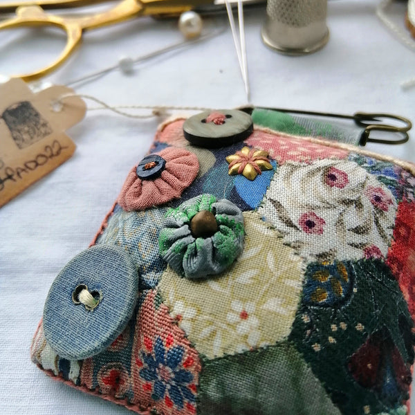 Patchwork Padded Brooch.
