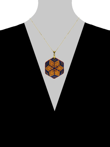 Hexie Star Necklace - Morocco