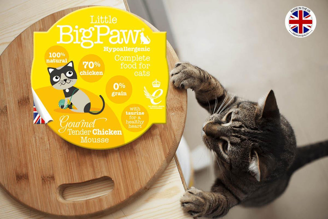 Little Big Paw Chat 85g Poulet