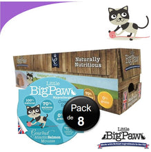 Charger l'image dans la galerie, Little Big Paw Chat 85g Saumon - Carton