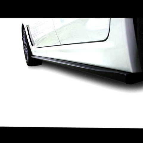 F-HTA-side0811st - HTA - Subaru Side Skirt Extensions (08-14 WRX / 08-14 STi)