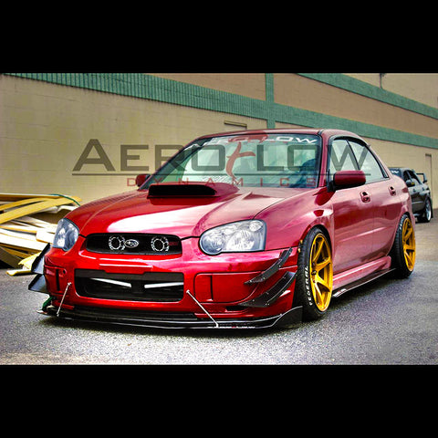 Aeroflow Dynamics - Side Skirt Extension V1 (02-07 WRX / 04-07 STi)