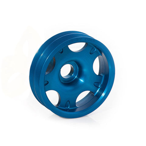 F-COB-300102B - COBB Tuning - Lightweight Crank Pulley - Blue (incl. 02-14 WRX / 02-16 STi)