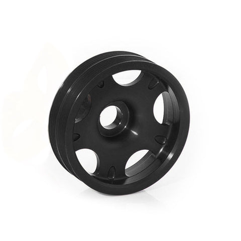 F-COB-300102BK - COBB Tuning - Lightweight Crank Pulley - Black (incl. 02-14 WRX / 02-16 STi)