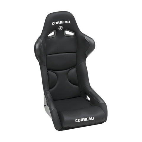 Corbeau - FX1 Pro Fixed Back Seat - Black Microsuede