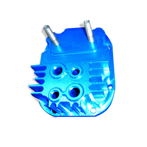 Cusco - R180 Increased Capacity Rear Diff Cover - Blue (STI 04-14)