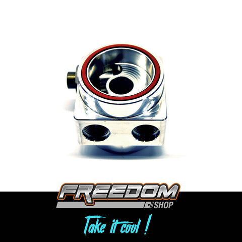 Freedom Shop - Thermostatic Oil Cooler Sandwich  - Subaru EJ Series