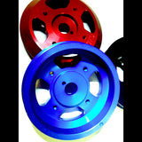 Great North Performance - Lightweight Crank Pulley - Black (13-17 BRZ / 13-16 FR-S / 15+ WRX)
