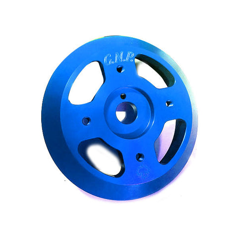 Great North Performance - Lightweight Crank Pulley - Blue (13-17 BRZ / 13-16 FR-S / 15+ WRX)