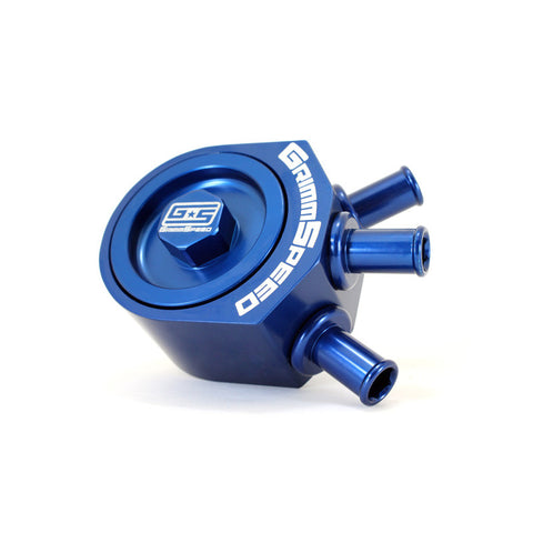 F-GRM-078006B - GrimmSpeed - Air/Oil Separator - Blue (inc 02-07 WRX / 04-16 STi)