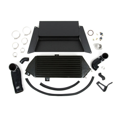 F-GRM-090043 - GrimmSpeed - Top Mount Intercooler Kit - Black (05-09 Legacy GT)