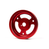 F-GRM-095024 - GrimmSpeed - Lightweight Crank Pulley - Red (inc. 13-15 BRZ / 13-15 FR-S / 15-16 WRX)
