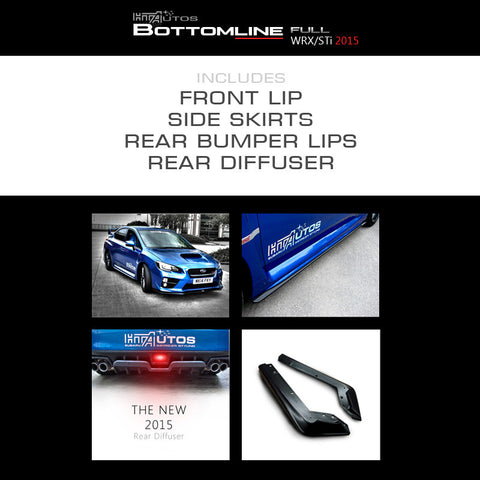 HTA - Subaru Bottomline Kit FULL (15 WRX / 15 STi)