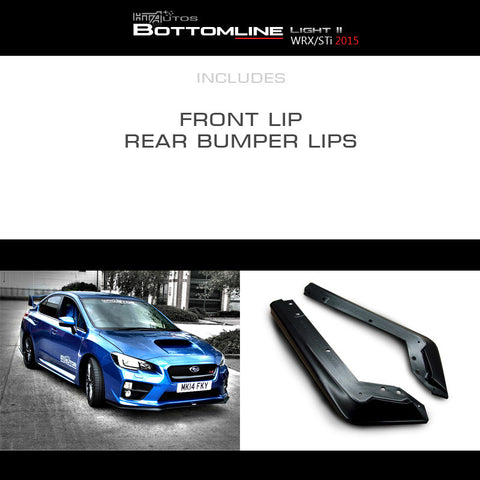HTA - Subaru Bottomline Kit LIGHT-2 (15 WRX / 15 STi)