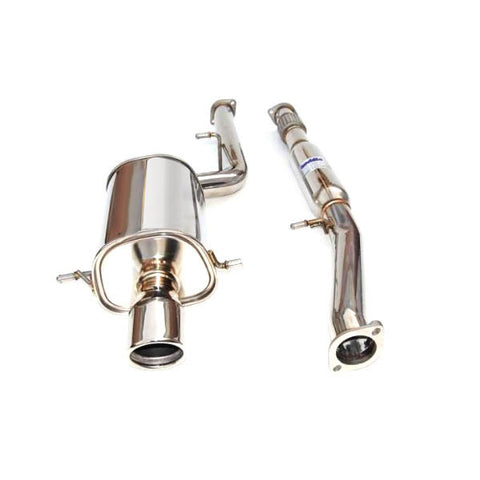 F-INV-HS02SW1G3S - Invidia - Q300 Cat Back Single Exhaust (02-07 WRX / 04-07 STi)
