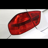 F-LAM-S316R - Lamin-X - Taillight Covers Hatchback - Red (08-14 WRX / 08-14 STi)