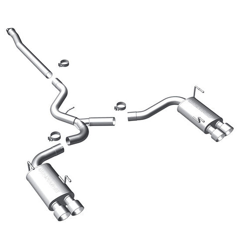 F-MGF-15472 - Magnaflow - Cat Back Exhaust 3in - Sedan (11-15 WRX / 11-15 STi)