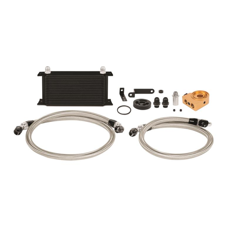 F-MIS-MMOC-WRX-08TBK - Mishimoto - Oil Cooler Kit - Thermostatic -  Black (08-14 WRX)