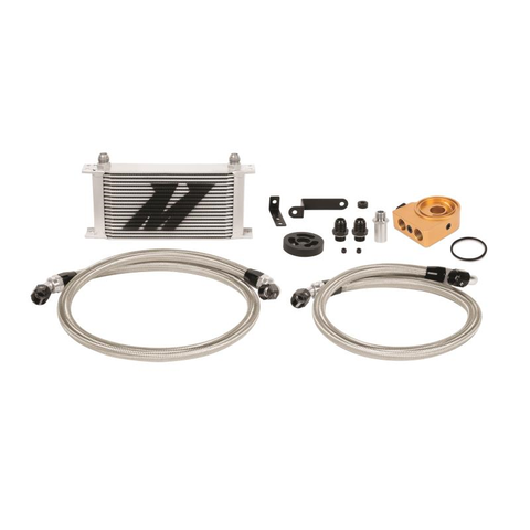F-MIS-MMOC-WRX-08T - Mishimoto - Oil Cooler Kit - Thermostatic -  Silver (08-14 WRX)