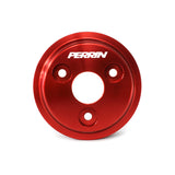 F-PER-PSP-ENG-111RD - PERRIN - Lightweight Water Pump Pulley - Red (inc. 15-16 WRX / 14-16 Forester XT)