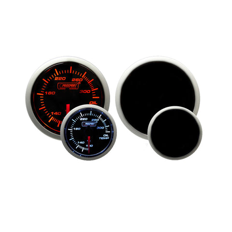 F-PRS-216BFWAOTSM.F - Prosport - Performance Series - 52mm Electric Oil Temperature Gauge - Amber / White