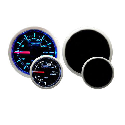 F-PRS-216BFWBBOSM.PSI - Prosport - Performance Series - 52mm Mechanical Boost Gauge - Blue / White