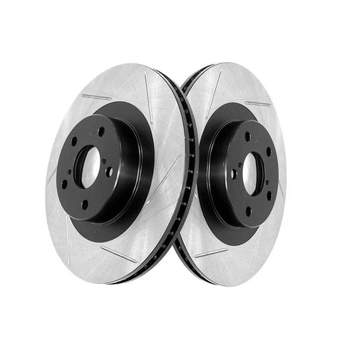 Stoptech - Slotted Rotor Rear Pair  ( 05-07 STi)