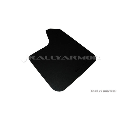 F-RAR-MF12-BASBLK - Rally Armor - Universal Basic Black logo Set
