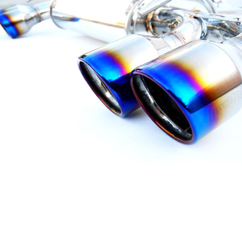 F-INV-HS08STIG3T - Invidia - Q300 Cat Back Exhaust Titanium Tips (WRX 11-14 / STI 08-14 Hatchback)