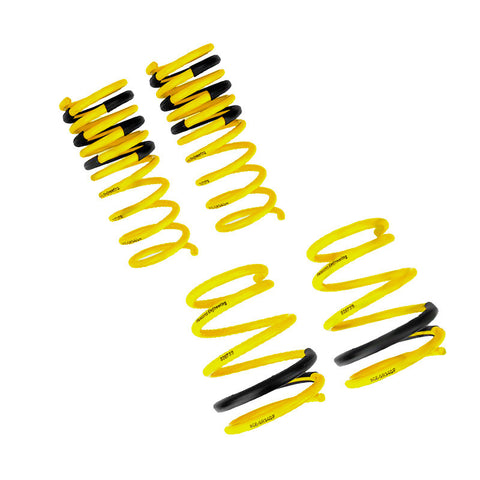 F-RAC-GR340 - Racecomp Engineering - Yellow Lowering Springs (08-14 STi)