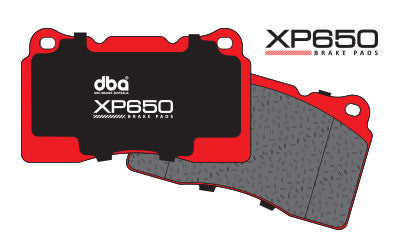 DBA - XP650 Brake Pads - Front  (inc. 04-17 STi  / OEM Brembo)