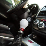 COBB - Delrin Shift Knob White-Red 6MT  (2015+ WRX / 2004+ STi / 13-17 BRZ)
