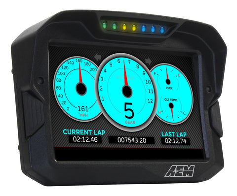 AEM - Digital Display CD-7 non Logging Race Dash, CAN input only