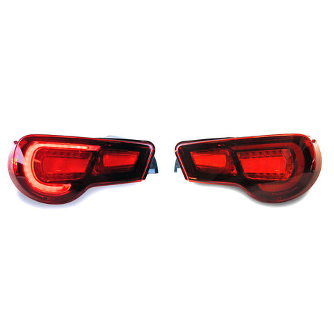 F-TMS-81500-TZN60-US - TOM'S - LED Tail Light Set DOT Approved (BRZ 13-14 / FR-S 13-14)