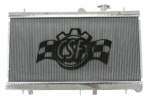 CSF Aluminum Racing Radiator - Subaru WRX/STi Manual 2002-2007