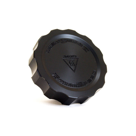 "GrimmSpeed - ""Cool Touch"" Delrin Oil Cap Black (Subaru)"