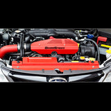 F-GRM-099017 - GrimmSpeed -  Alternator Cover - Red (02-14 WRX / 04-14 STi)