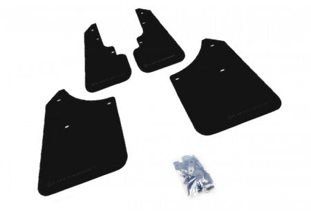 Rally Armor Basic Mud Flaps Black Logo - Subaru Forester 2003-2008