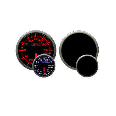 Prosport - 52mm Premium Electric Boost gauge - F-PRS-216SMBOSWL270-PK.PSI