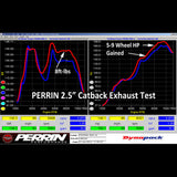 "F-PER-PSP-EXT-360BR - PERRIN - FR-S / BRZ 2.5"" Cat Back Exhaust - Resonated (13-15 BRZ / 13-15 FR-S)"